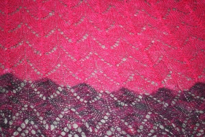 Detail of Traveling Woman Shawl